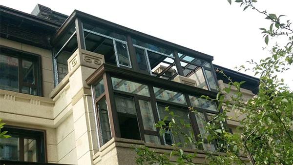江阴亿美门窗科技有限公司阳光房、门窗工程案例