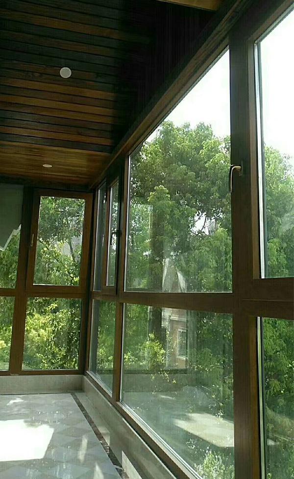 90系列窗纱一体铝合金窗