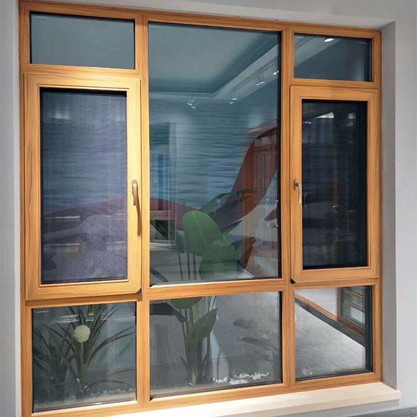 105系列(双隔热条)窗纱一体铝合金窗